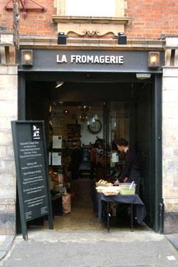 La Fromagerie London