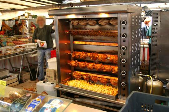 Marché Bastille chicken