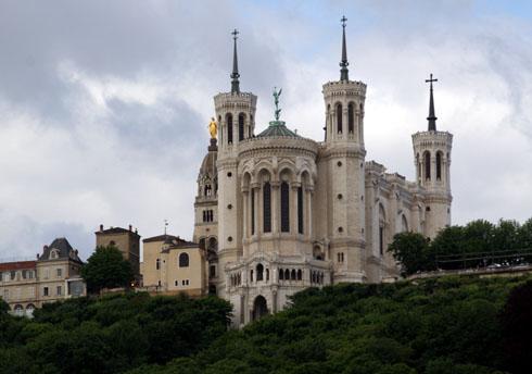 Lyon Basilica by day