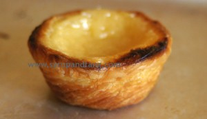 Pastis de nata &#8212; Portuguese custard tarts