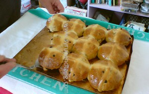 Hot cross buns save the day