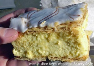Vanilla slices &#8211; glorious, perhaps mundane, quite mysterious