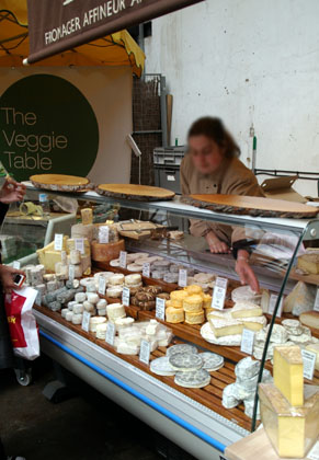 Borough Market French cheesemonger